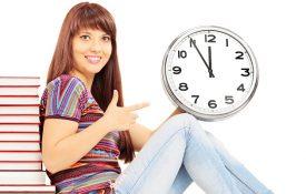 come recuperare il tempo perso nello studio